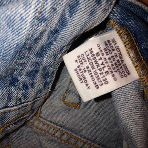 POLO Shorts - vintage POLO jean shorts